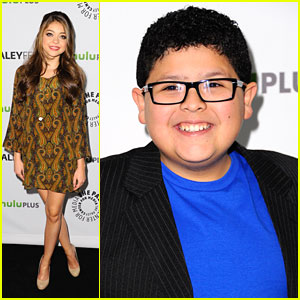 Sarah Hyland &#038; Rico Rodriguez: Paleyfest Pals