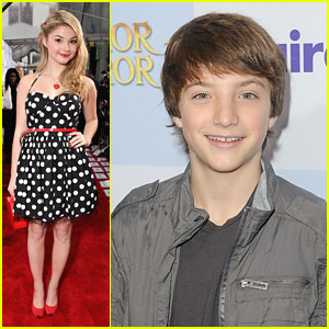 Stefanie Scott & Jake Short: 'Mirror Mirror' Premiere Pair