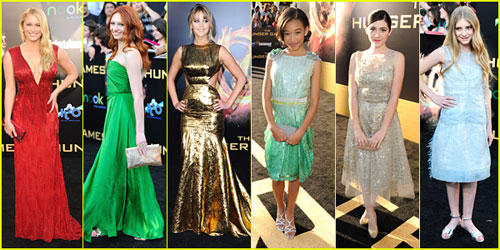 'The Hunger Games' Premiere -- Best Dressed Poll!