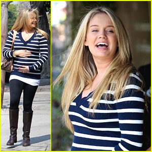 Tiffany Thornton: Baby Bump Watch!