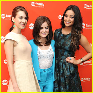 Lucy, Troian & Shay: Good Morning, 'A'