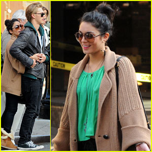 Vanessa Hudgens: Green for St. Patty's Day!
