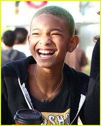 Willow Smith: Green Hair & Grins