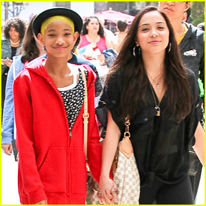 Willow Smith & Stella Hudgens: Girls at the Grove