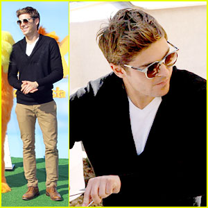 Zac Efron: 'The Lorax' in Rome!