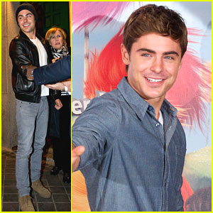 Zac Efron: 'The Lorax' Photo Call in Madrid