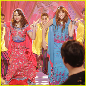 Zendaya & Bella Thorne Go Bollywood