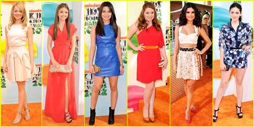 2012 Kids Choice Awards - Best Dressed Poll!