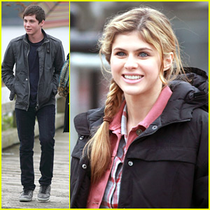 Alexandra Daddario Goes Blonde for 'Percy Jackson'!