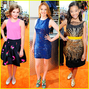 Amandla, Jackie & Willow: Kids Choice Awards 2012!