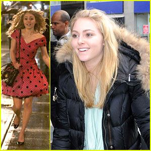 AnnaSophia Robb Runs in the Rain