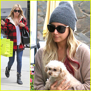 Ashley Tisdale: In-N-Out with Maui!