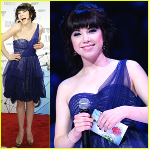Carly Rae Jepsen: Juno Awards 2012