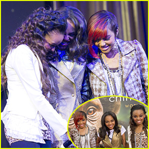 McClain Sisters: 'Rise' Up at Disney's Worldwide Conservation Fund Awards Ceremony!