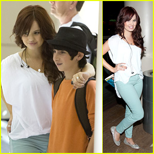 Debby Ryan: Fan Photos at LAX!