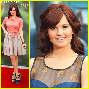 Debby Ryan: 'Chimpanzee' World Premiere!