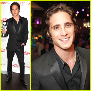 Diego Boneta: CinemaCon 2012's Rising Star Award