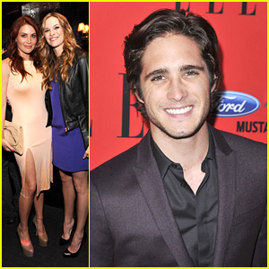 Diego Boneta: ELLE Women In Music Event with Danielle Panabaker