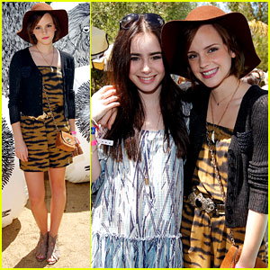 Emma Watson & Lily Collins: Mulberry BBQ!