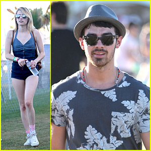 Emma Roberts: Coachella Crowds with Joe Jonas