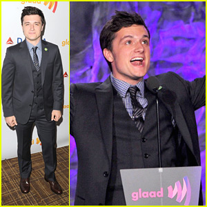 Josh Hutcherson: GLAAD Media Awards 2012!