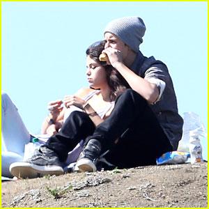 Justin Bieber & Selena Gomez: Griffith Park Pair