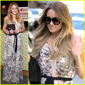 Lauren Conrad: 'The Fame Game' in New Jersey