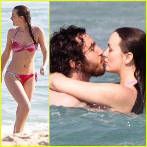 Leighton Meester & Aaron Himelstein Rekindle Romance in Rio