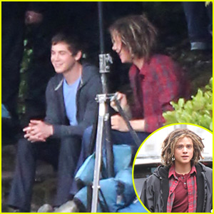 Logan Lerman: 'Percy Jackson' with Douglas Smith