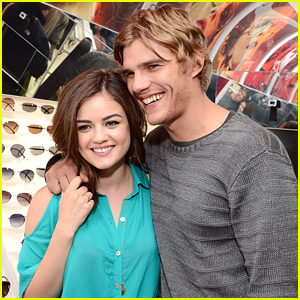 Lucy Hale: Chilli Beans Grand Opening!