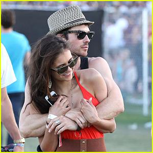 Nina Dobrev & Ian Somerhalder: Coachella Couple