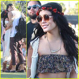 Vanessa Hudgens &#038; Austin Butler: Last Day Kisses at Coachella