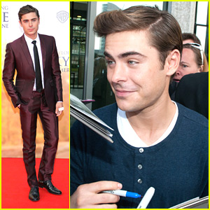 Zac Efron: 'The Lucky One' in Berlin!