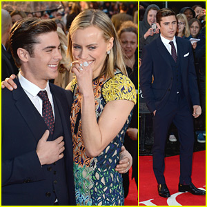 Zac Efron: 'The Lucky One' in London