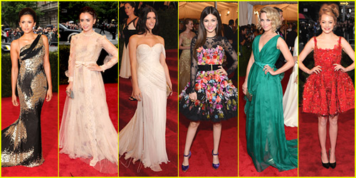2012 Met Ball - Best Dressed Poll!