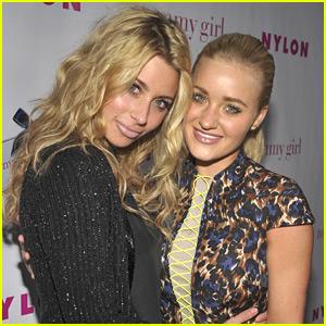 Aly & AJ Michalka: Nylon Young Hollywood Party Pair