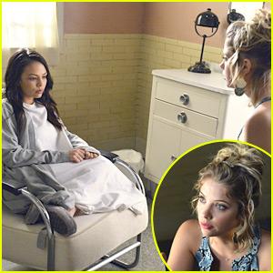 Ashley Benson: Hospital Visit For Janel Parrish