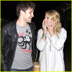 Ashley Benson & Keegan Allen: Chateau Marmont Mates