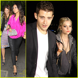 Ashley Benson & Shay Mitchell Meet at Chateau Marmont