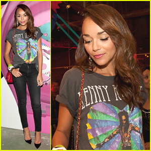Ashley Madekwe: Art Rules Reveal with Swatch