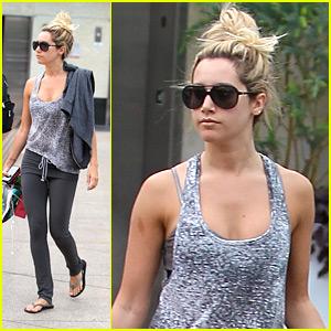 Ashley Tisdale: High Bun Beauty