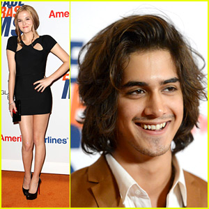 Avan Jogia &#038; Zoey Deutch: Race to Erase MS Gala!