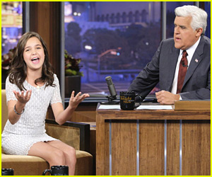 Bailee Madison: 'Cowgirl' at Leno!