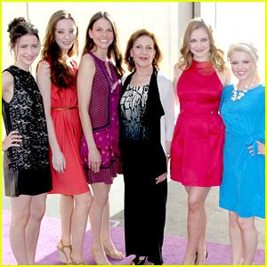 'Bunheads' Girls: Disney International Upfronts 2012