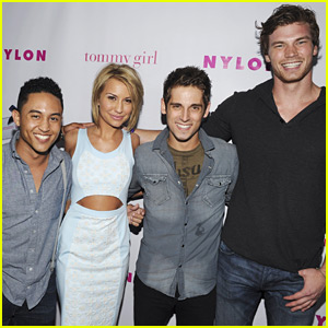 Chelsea Kane & Tahj Mowry: Nylon Party with Jean-Luc Bilodeau!