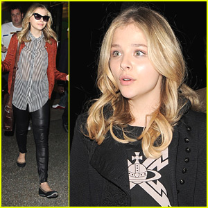 Chloe Moretz: 'Chick' at LAX