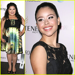 Cierra Ramirez & Raini Rodriguez: 'Girl In Progress' Screening