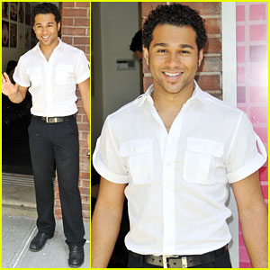 Corbin Bleu: 'Wendy Williams Show' Stop