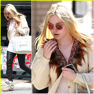 Dakota Fanning: Back To Classes