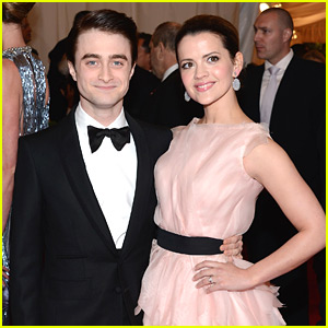 Daniel Radcliffe & Rose Hemingway - Met Ball 2012